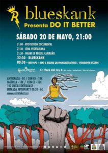 BLUESKANK presenta «Do it Better» en Rock Palace.