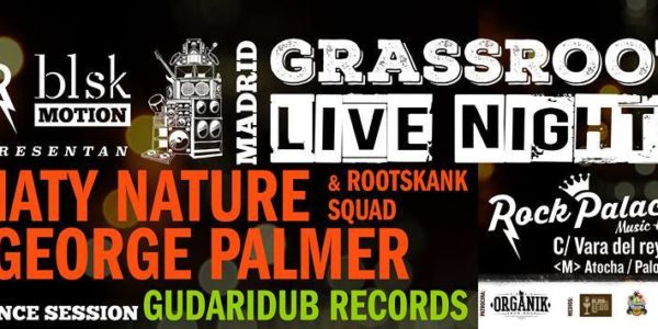 George Palmer y Natty Nature en Grasroots Live Nights!
