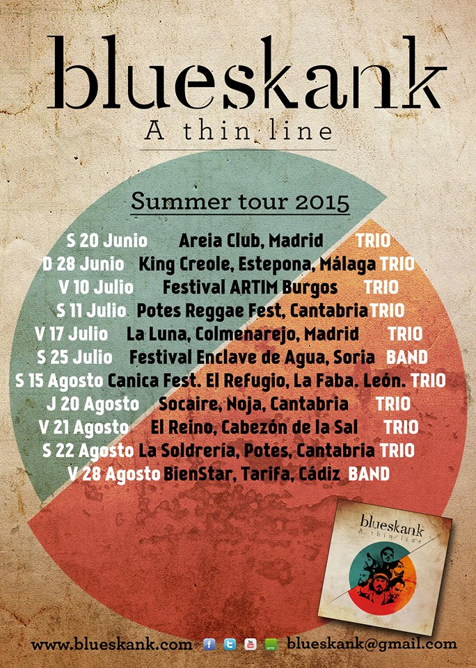 2015 Blueskank Summer Tour